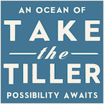 Take the Tiller | Logo